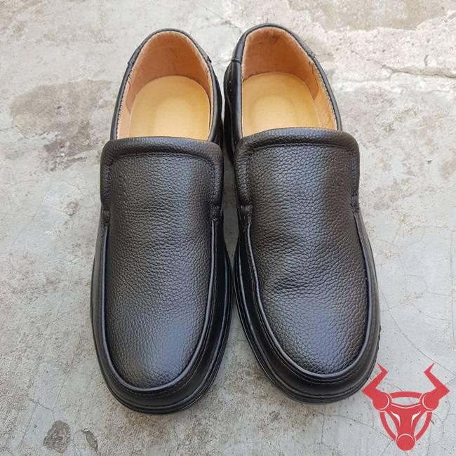 Giày Lười Da Bò Thật GM08-Đ
