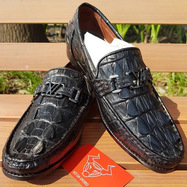Giày Lười Nam Da Cá Sấu Thật GC0102-LV