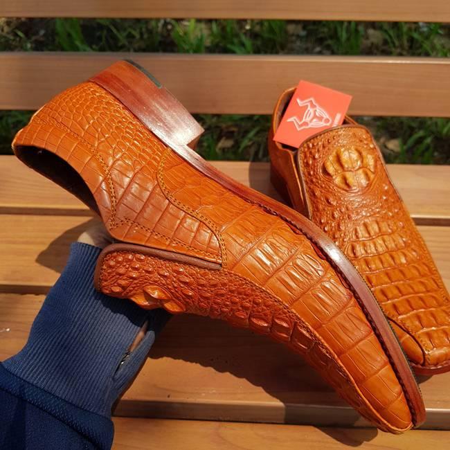 Giày Tây Nam Da Cá Sấu GA0604