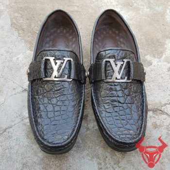 Giày Lười Giày Mọi Da Cá Sấu Thật GC0108