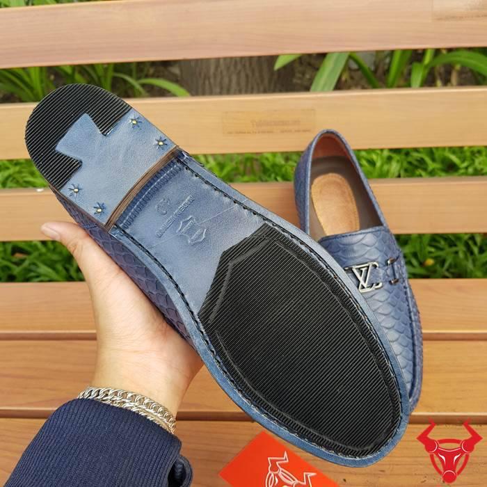Giày Mọi Nam Da Trăn Cao Cấp GDT04