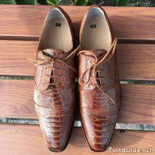 Giày tây da chân đà điểu nam GDD01
