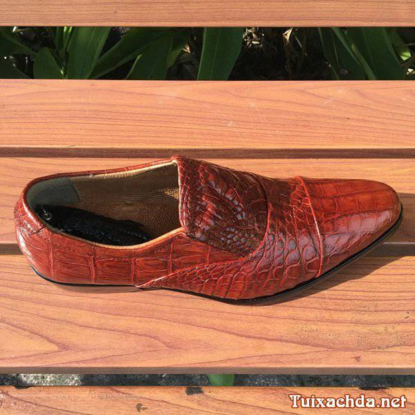 Giày da cá sấu nam hà nội giá rẻ GCS04