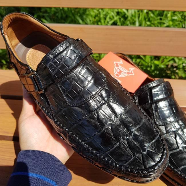 Giày Da Cá Sấu Thật GC0102