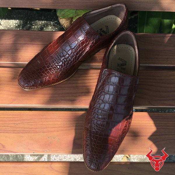 Giày Da Cá Sấu Thật Giảm Giá GCS20