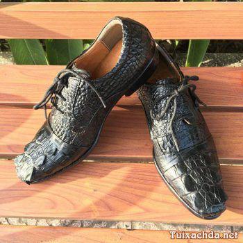Giày da cá sấu xịn hàng hiệu giá rẻ GCS06