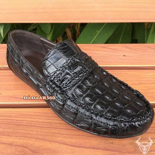 Giày Lười Da Cá Sấu Thật GCS14