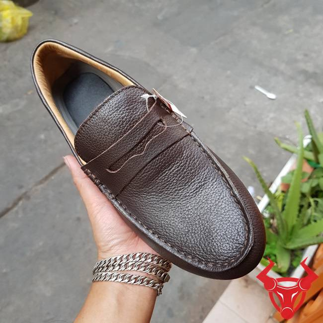 Giày Lười Nam Da Bò Thời Trang GM01-N