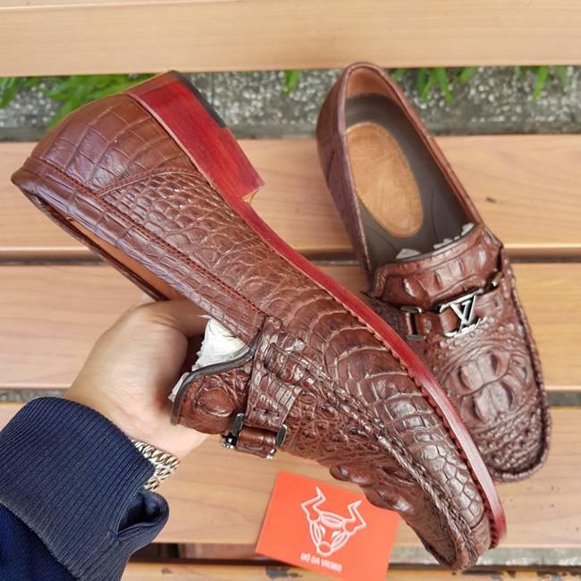 Giày Mọi Da Cá Sấu Thật GC0404