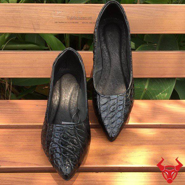 Giày Nữ Da Cá Sấu Thật GN01