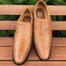 Giày Da Kỳ Đà Thật Kiểu Tây GKD01