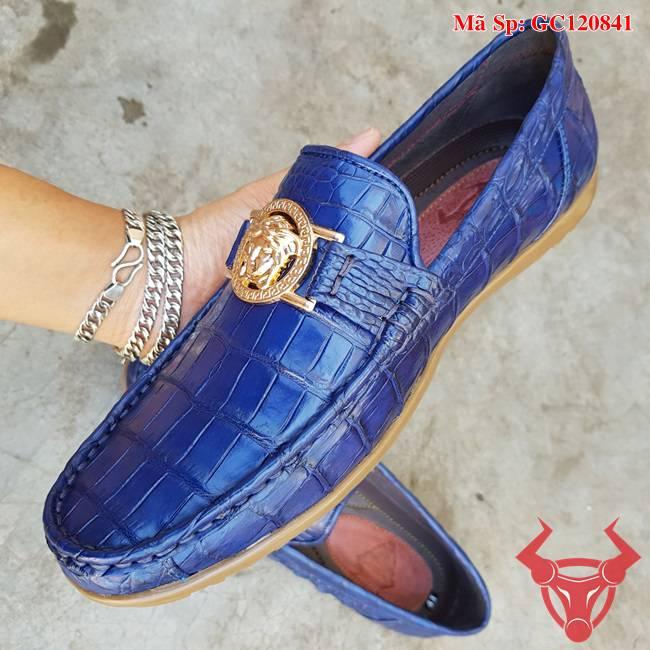 Giày Lười Da Cá Sấu TPhcm GC120841