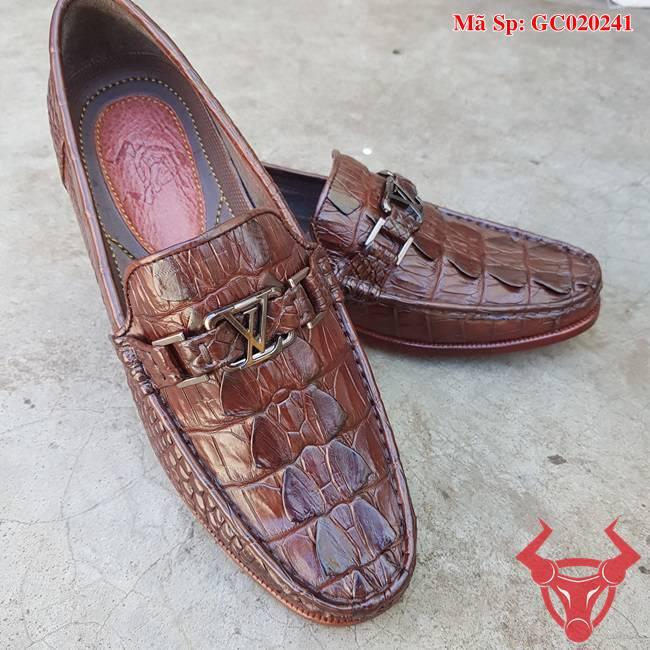 Giày Mọi Da Cá Sấu TPhcm GC020241