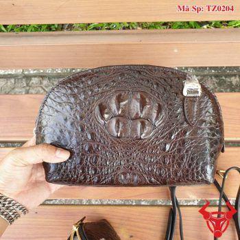 Túi Da Cá Sấu Nữ Vỏ Sò TZ0204