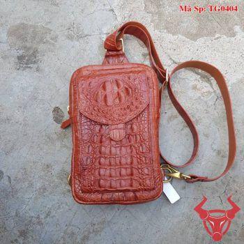 Túi Đeo Nam Da Cá Sấu Giá Rẻ TG0404