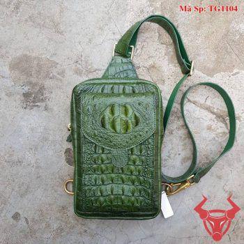 Túi Đeo Nam Da Cá Sấu TPhcm TG1104