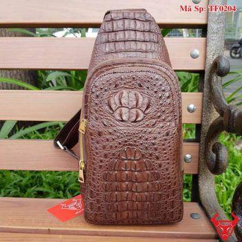 Túi Đeo Ngực Cá Sấu Thời Trang TF0204