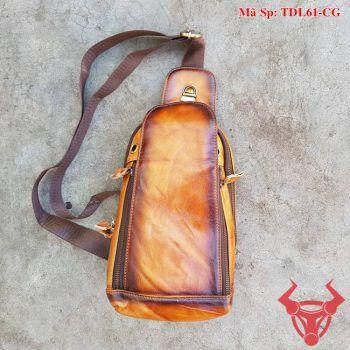 Túi Đeo Ngực Nam Da Bò Giá Rẻ TDL61-CG