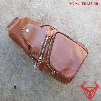 Túi Đeo Ngực Nam Da Bò TDL53-NB
