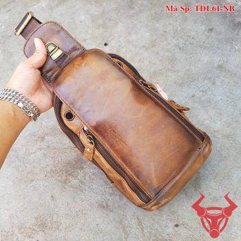 Túi Đeo Ngực Nam Da Bò TPhcm TDL61-NB