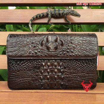 Túi Phong Thư Da Cá Sấu Nữ TH0204