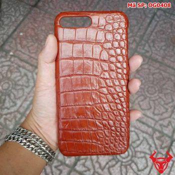 Ốp Lưng Ip 8 Plus Da Cá Sấu Thật OG0408