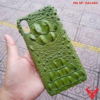 Ốp Lưng Ip XS Max Da Cá Sấu Thật OA1404